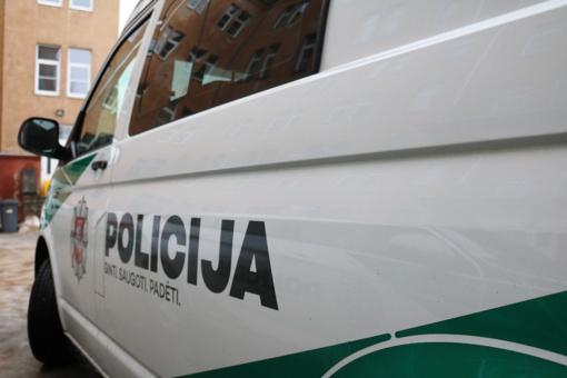 Vilniuje rastas miręs vyras sužalota galva