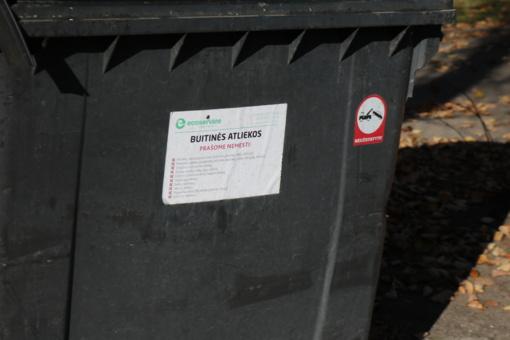 Dėl padegtų konteinerių apdegė automobiliai