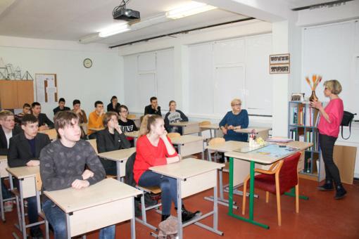 """Karjeros diena Vilkaviškio """"Aušros"""" gimnazijoje"""
