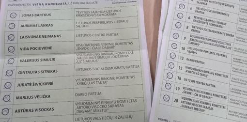 """""""Prieš visus"""" balsavo kone 3 proc. Šiaulių rinkėjų"""