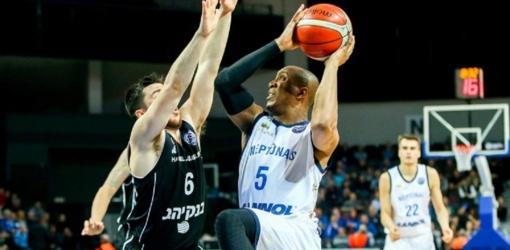 """""""Neptūno"""" krepšininkai pralaimėjo pirmąsias Čempionų lygos aštuntfinalio rungtynes"""