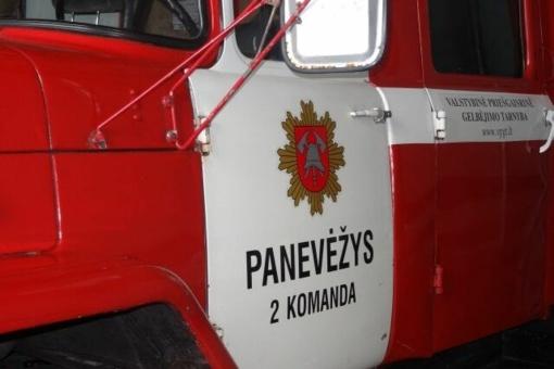 Kupiškio rajone degė šiukšlės