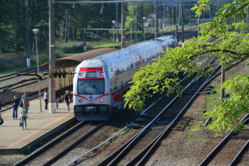 Vietiniais traukinių maršrutais vasarą keliavo 18 procentų mažiau žmonių