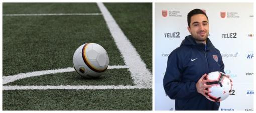 Gargždiškis futbolo treneris – tarp šalies geriausiųjų
