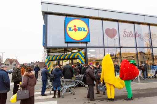 """Šilutėje atidaryta nauja """"Lidl"""" parduotuvė"""