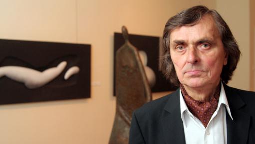 Prezidentė pasveikino skulptorių A. Žukauską jubiliejaus proga