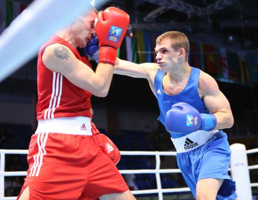 Boksininkui E. Skurdeliui - turnyro Suomijoje bronzos medalis