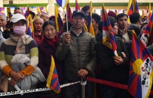 Indijoje minimos Tibeto sukilimo 60-osios metinės