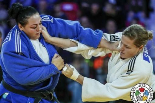 S. Jablonskytė dziudo varžybose Maroke liko per žingsnį nuo medalio