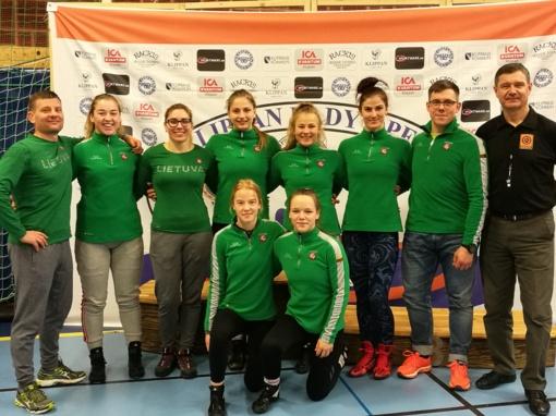 Nacionalinė Lietuvos Respublikos moterų imtynių rinktinė kovojo UWW reitinginiame turnyre Bulgarijoje
