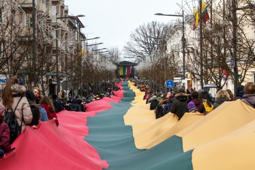 Šiauliuose džiaugsmingai paminėta Lietuvos nepriklausomybės atkūrimo diena