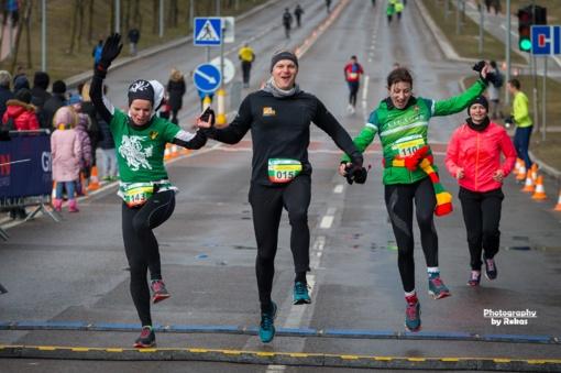 Jubiliejiniame bėgime Jonavoje - maratonininkų triumfas
