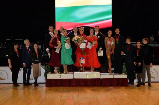 Kėdainiuose paaiškėjo naujieji Lietuvos klasikinių ir Lotynų Amerikos šokių čempionai