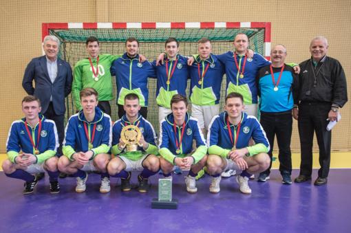 """SK """"Baltic Champs-Ježvito"""" riedulininkai iškovojo aukso medalius"""