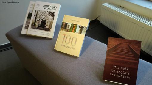 Pristatyti 2018 metais Šiaulių rajono savivaldybės dalinai finansuoti leidiniai