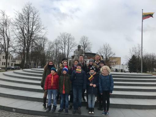 Kovo 11-oji – ypatinga diena Vilkaviškio skautams