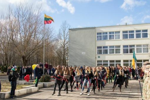 Kovo 11-oji Lieporių gimnazijoje