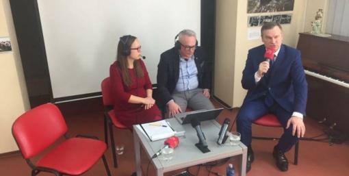 A. Truncė neatvyko, debatai virto interviu su A. Vrubliausku (vaizdo įrašas)