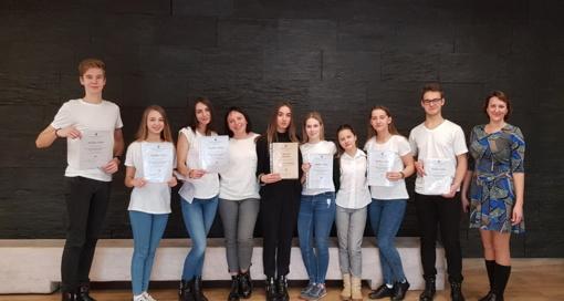 Sėkmė Lietuvos mokinių meninio skaitymo konkurse