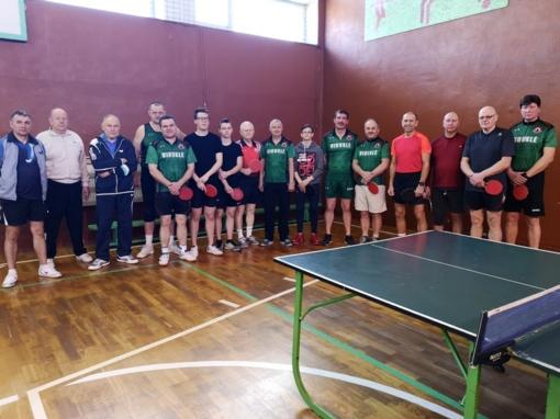 Tradicinis šventinis stalo teniso turnyras Viduklėje