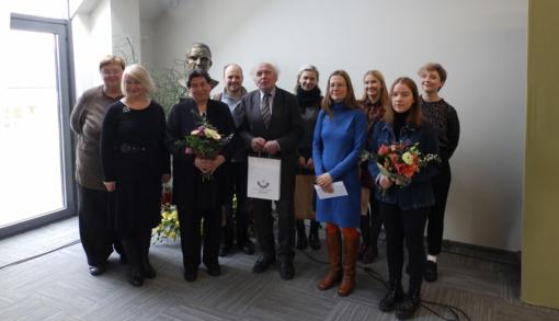 Minint Lietuvos Nepriklausomybės atkūrimo dieną, įteikti rajono K. Umraso literatūrinės premijos konkurso apdovanojimai