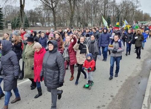 Minėjo Lietuvos nepriklausomybės atkūrimo dieną