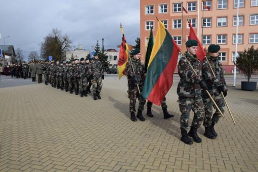 Lazdijai paminėjo Lietuvos nepriklausomybės atkūrimo dieną