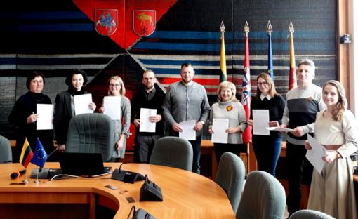 Lazdijų savivaldybėje tradiciškai rašytas Nacionalinis diktantas