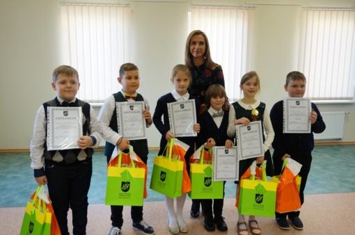 Pradinių klasių mokinių meninio skaitymo konkursas
