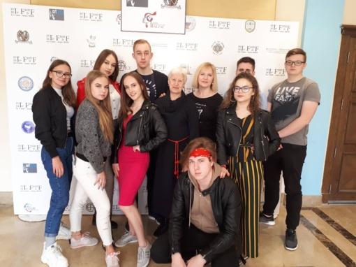 Alytaus gimnazistai atstovavo Lietuvai ir savo miestui Egipte