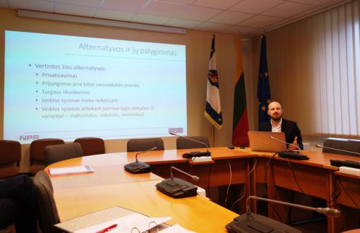 """Parengta UAB """"Kretingos turgus"""" veiklos vystymo galimybių studija"""