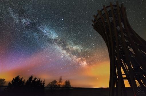 Lietuvis metus laiko filmavo naktinį dangų: rezultatas stulbinantis