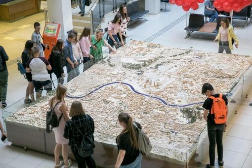 """Sostinės moksleiviams sukurtas pamokų mieste žemėlapis – """"Patirk Vilnių"""""""