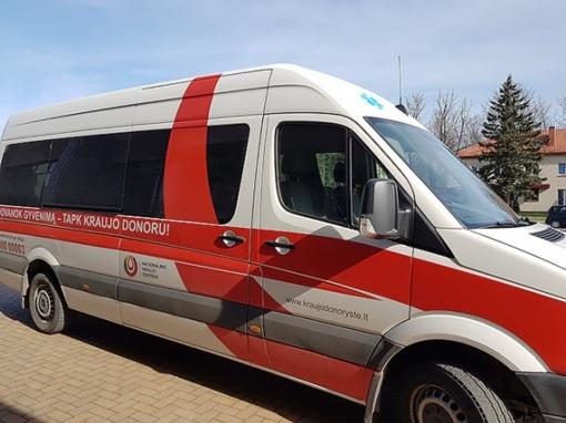 Kraujo donorai dovanoja gyvenimą