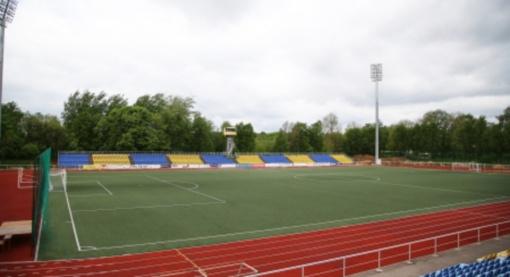 Bus tęsiama Kėdainių miesto stadiono rekonstrukcija