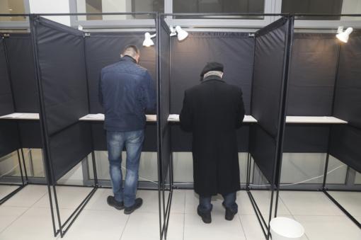 Policija gavo 25 pranešimus apie galimus rinkimų pažeidimus