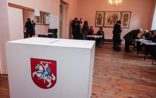 Merų rinkimų pakartotiniame balsavime iki 14 val. balsavo 21,53 proc. rinkėjų
