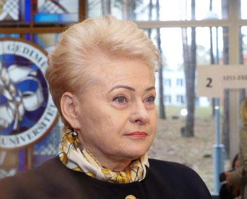 D. Grybauskaitė apie generalinio prokuroro sprendimą į pareigas skirti dukros krikštatėvį: pasitikiu prokuroru ir jo sprendimu