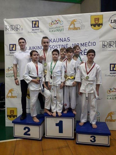 BJJ varžybose jaunieji jonaviškiai iškovojo penkis aukso medalius