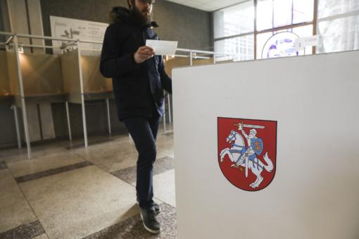 Policija gavo 104 pranešimus apie rinkimų pažeidimus