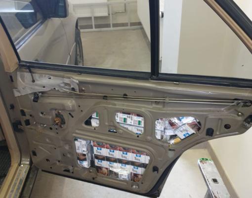 Cigaretes automobilyje gabenęs šalčininkietis nepergudravo VSAT pareigūnų