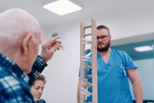 Kulautuvos reabilitacijos ligoninėje vertinami senatvinio silpnumo sindromo pasireiškimai