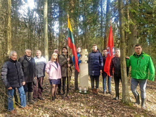 Pagerbti Lietuvos partizanai