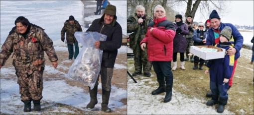 """Vyko tradicinė Aukštaitijos bendruomenių poledinės žūklės žvejų šventė """"Un Sartų Dusetose 2019"""""""