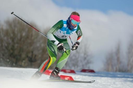 Lietuvos slidinėjimo čempionai paaiškėjo Latvijoje