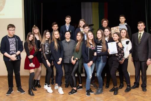Neabejingi istorijai varžėsi Lieporių gimnazijoje