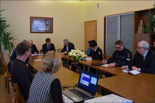Įvyko Savivaldybės ekstremaliųjų situacijų komisijos posėdis