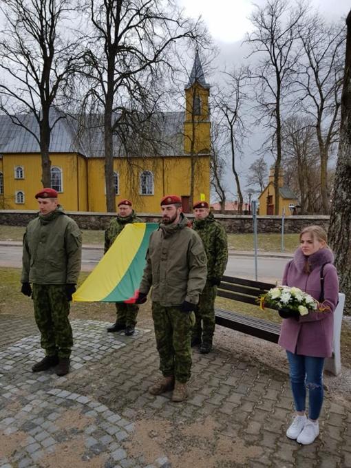Pagerbtas Lietuvos Nepriklausomybės Akto signataro A. Ražausko atminimas