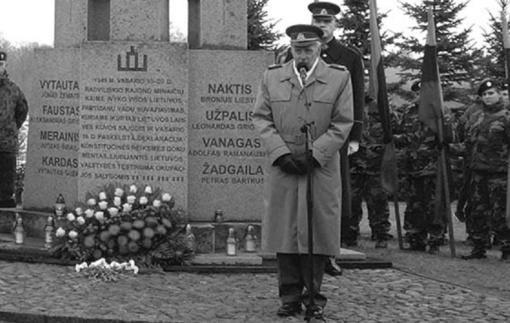 Mirė partizanas Vytautas Balsys-Uosis
