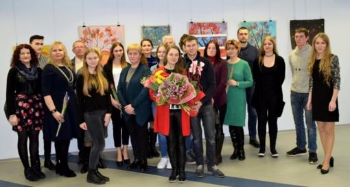 Tarptautinę moterų solidarumo dieną – Vaidos Petraitytės tapybos darbų paroda